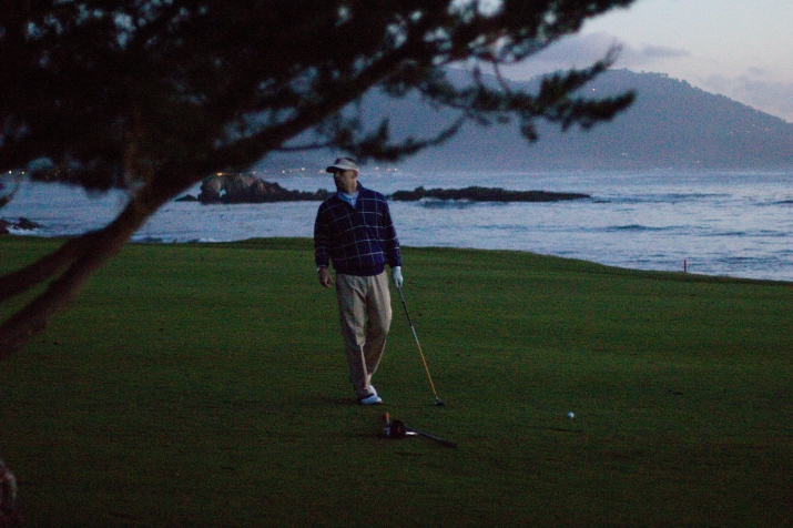 Pebble Beach Twilight