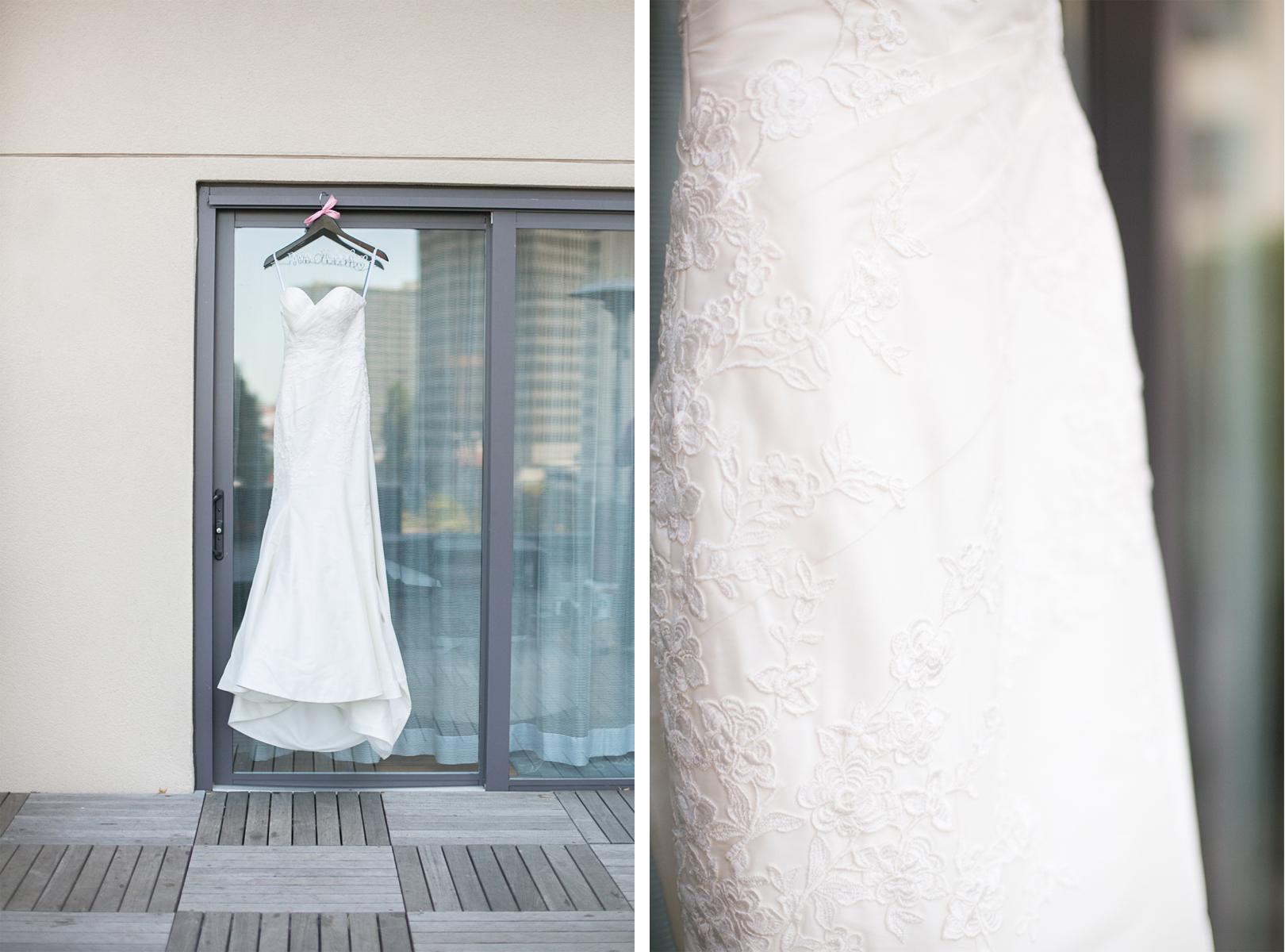 Adam + Tanya | San Francisco California Hotel Vitale Wedding «