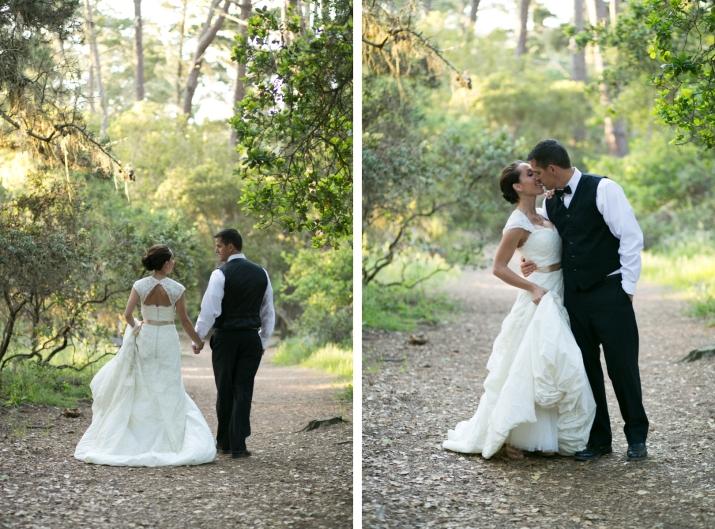 Monterey California Beach & Nature Wedding