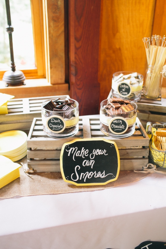 Smores Nestldown Wedding Los Gatos California