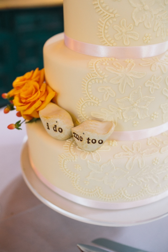 Cake Wedding Nestldown Wedding Los Gatos California