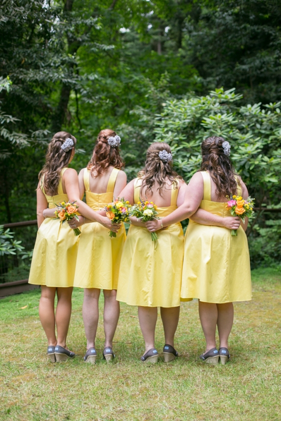 Bridesmaids Nestldown Wedding Los Gatos California