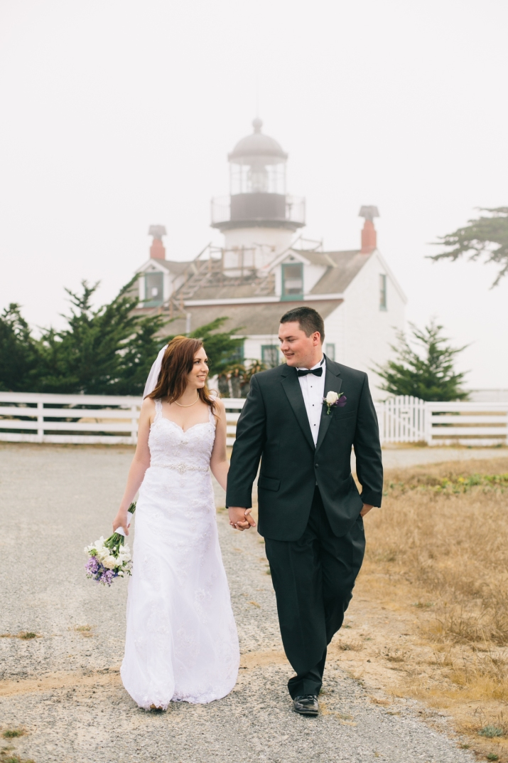 Josh & Melissa's Pacific Grove California Lover's Point Wedding
