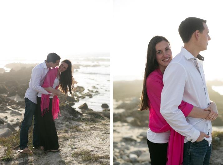 Joey + Vanessa Asilomar Beach Pacific Grove California Engagement Photography