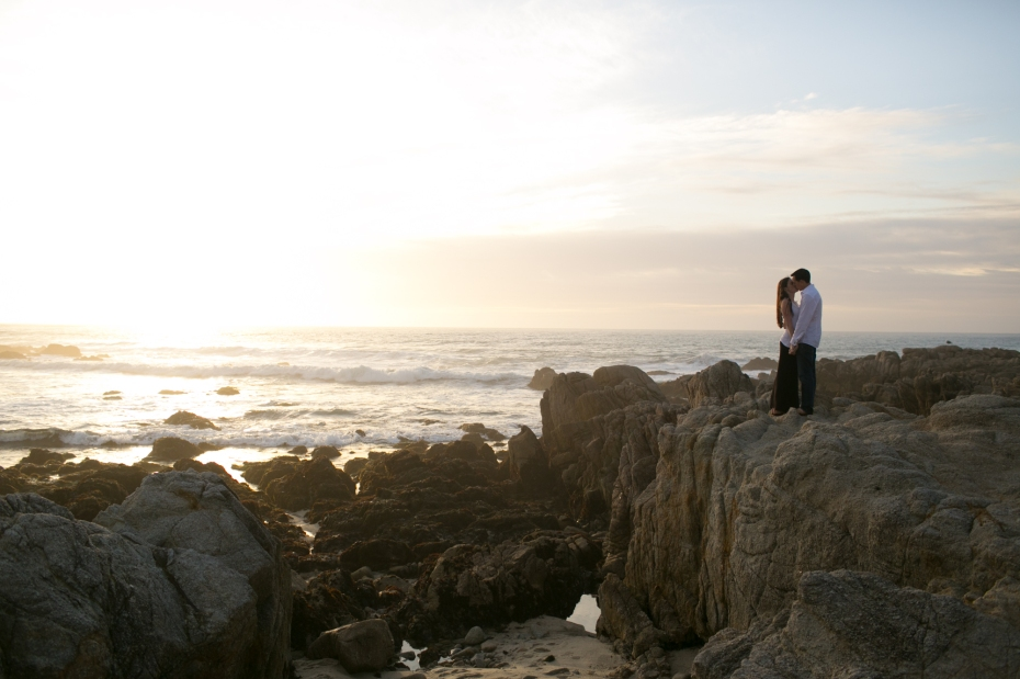 Joey + Vanessa Engagement Photography Asilomar Beach Pacific Grove California