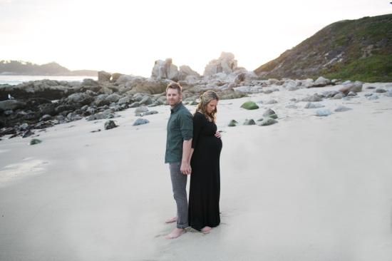 Nate + Cady Maternity Carmel, CA